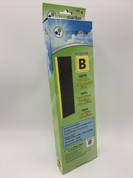 ✅NEW 🔥 Fast Shipping GermGuardian Hepa Replacement Air Filter Size B FLT4825 $16.99