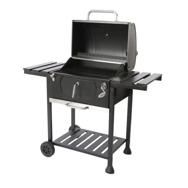 24 inch Charcoal BBQ Grill 474 Square Inches For Outdoor Picnic Patio Cooking
