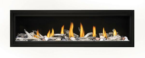 62quot; Linear Direct Vent Gas Fireplace Contemporary Luxurious Heat Control