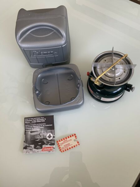 3 1993 Coleman Stove 508A700C Never Fueled Or Fired