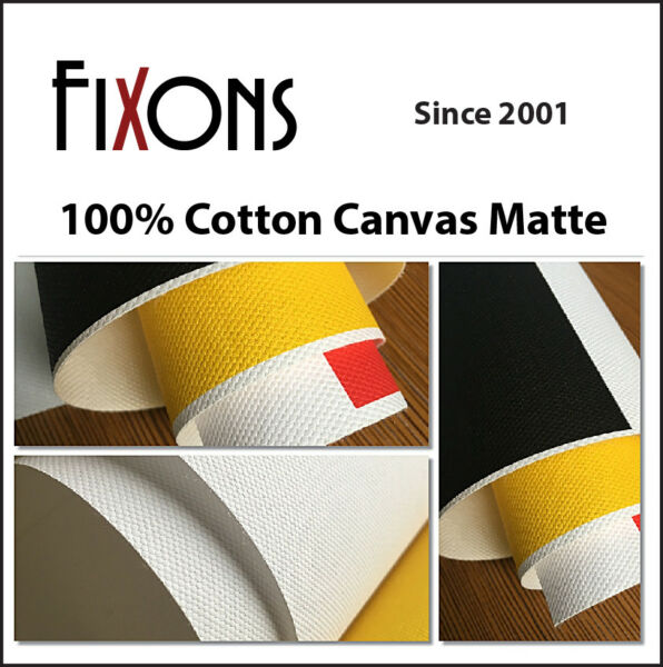 Artistic Quality Matte Canvas for Canon Inkjet 24quot; x 40#x27; 1 Roll