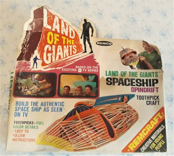 LAND OF THE GIANTS quot;SPINDRIFTquot; REMCO Toothpick Craft