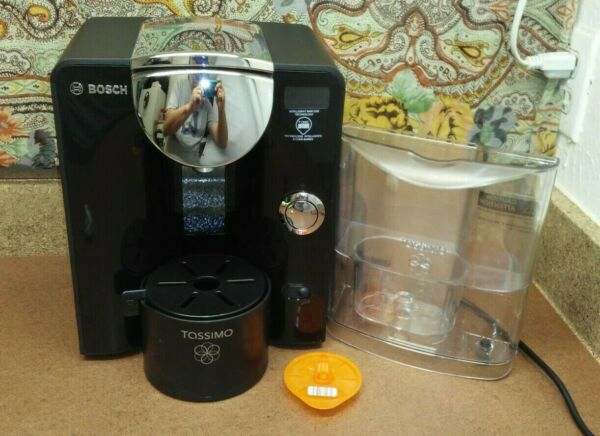 ⭐Watch Test Video Bosch Tassimo T55 TAS55 Coffee Maker Model TAS5542UC 02