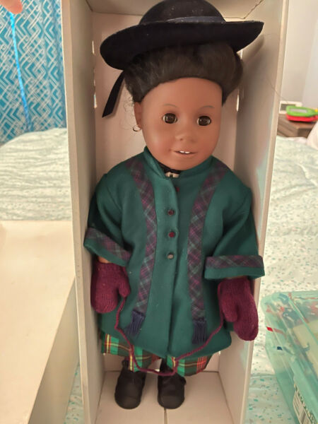 Pleasant Company American Girl Doll Addy HUGE LOT WITH CLOTHES amp; ACCESSORIES
