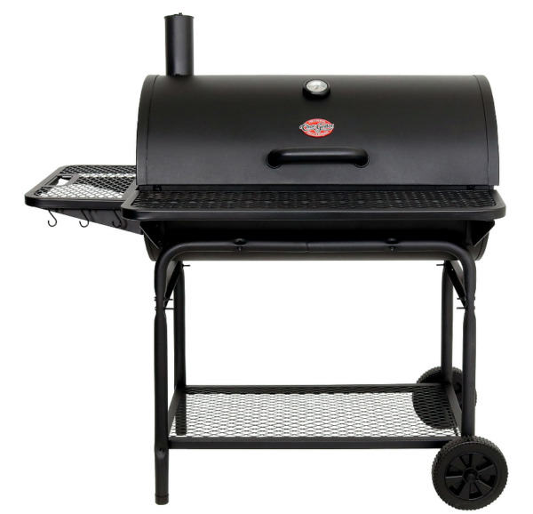 NEW#x27; Pro Deluxe XL Charcoal Grill Black