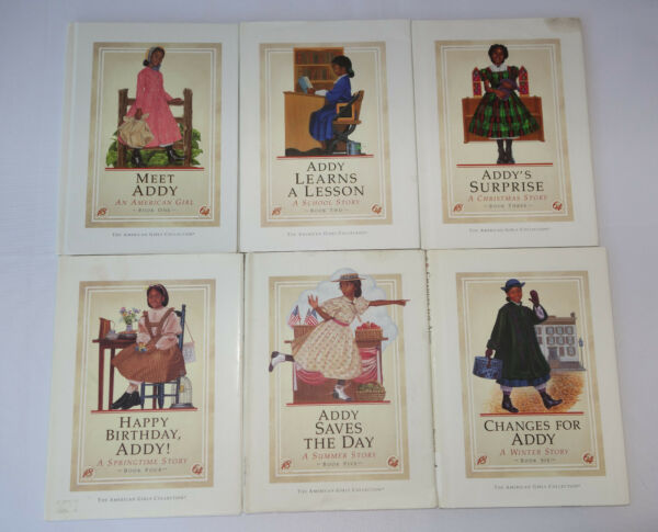 American Girl Addy Complete Book Set Hardcover First Edition Pleasant Company
