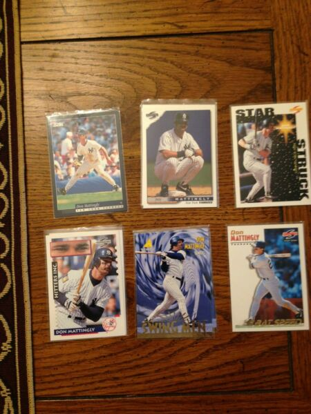 Don Mattingly 1995 Pinnacle Swing Men Bottom Middle One Card 18886