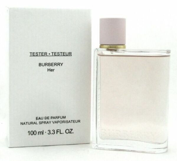 BURBERRY HER By Burberry perfume EDP 3.3 3.4 oz New Tester $64.00