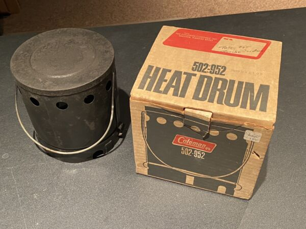 Vintage Coleman Heat Drum 502 952 For Sportster Stove Lightly Used Original Box $58.00