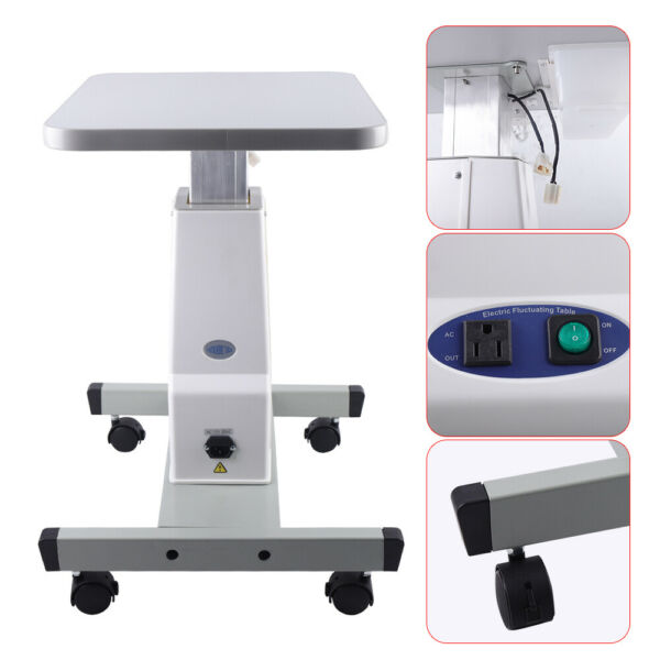 15KG Loading Optical Motorized Instrument Optometry Electric Mobile Work Table $169.12