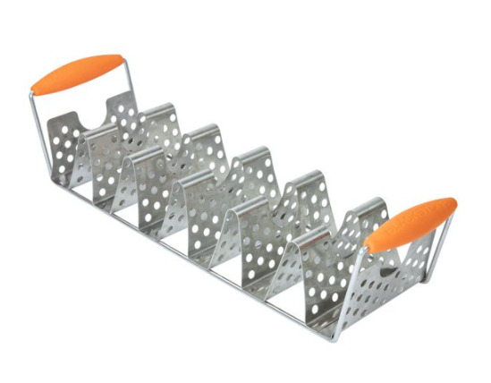 Blackstone Stainless Steel Taco Rack Holder with Handles $19.40