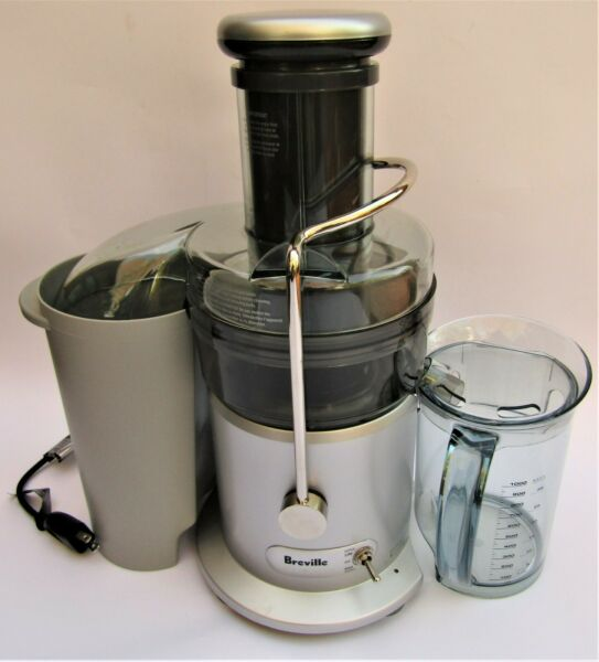 Breville Juicer Juice Fountain Plus 2 Speed Centrifugal 1.1qt Jug