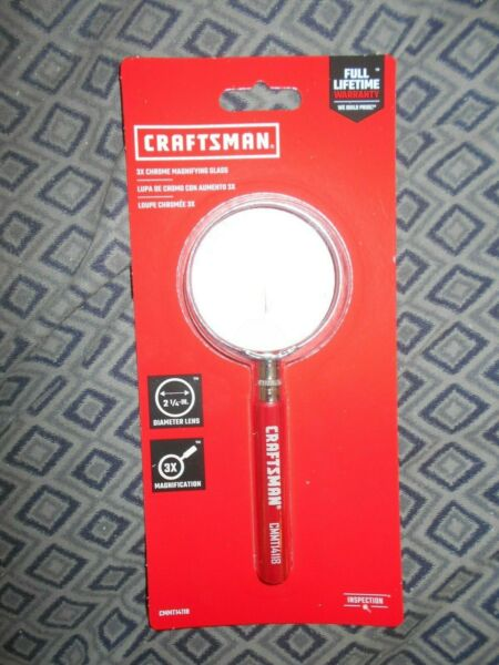 Craftsman 2 1 4 Chrome Magnifying Glass
