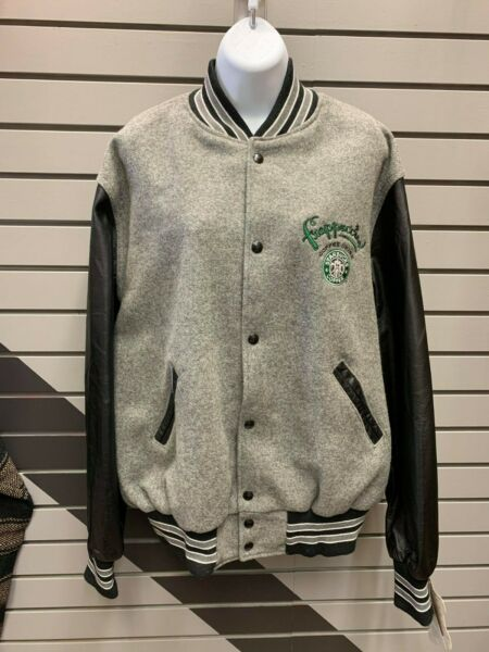 Starbucks Frappuccino Varsity Jacket Large L Men#x27;s Holloway New With Tags