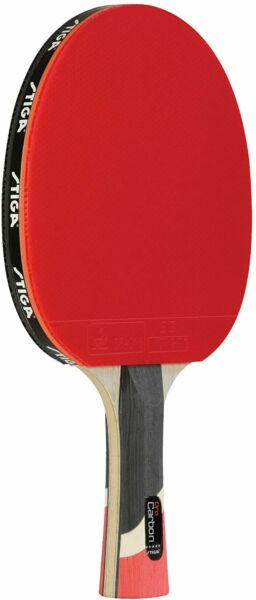 Table Tennis Racket with Carbon Technology for Tournament Play STIGA Pro Carbon $123.99