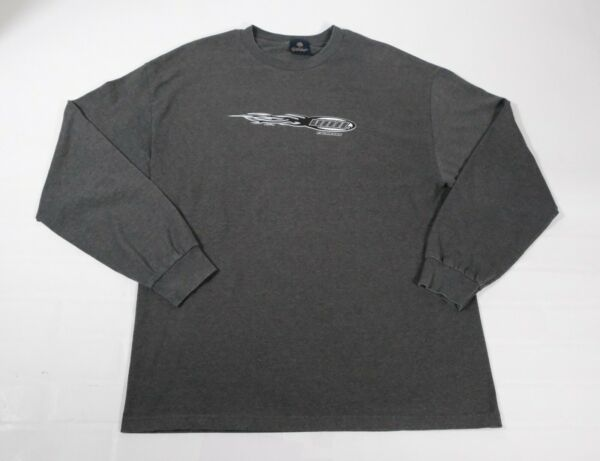 Yesterdays Mens Vail Colorado Long Sleeve Graphic T Shirt Sz XL Made In USA