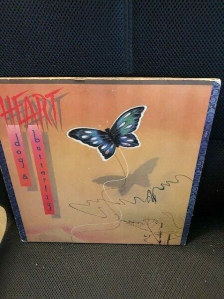 HEART DOG AND BUTTERFLY RECORD LP VINYL $3.99