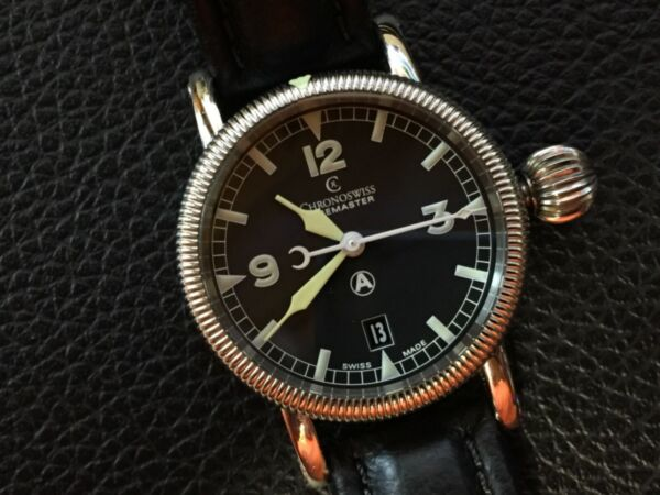 Chronoswiss Timemaster Men's Automatic For Sale Excellent $1500.00