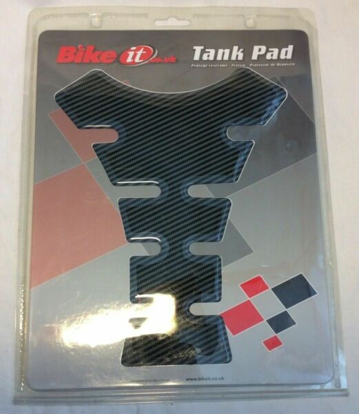 """Motorcycle """"Carbon Spine"""" Tank Pad By Bike It **Brand New** GBP 7.99"""