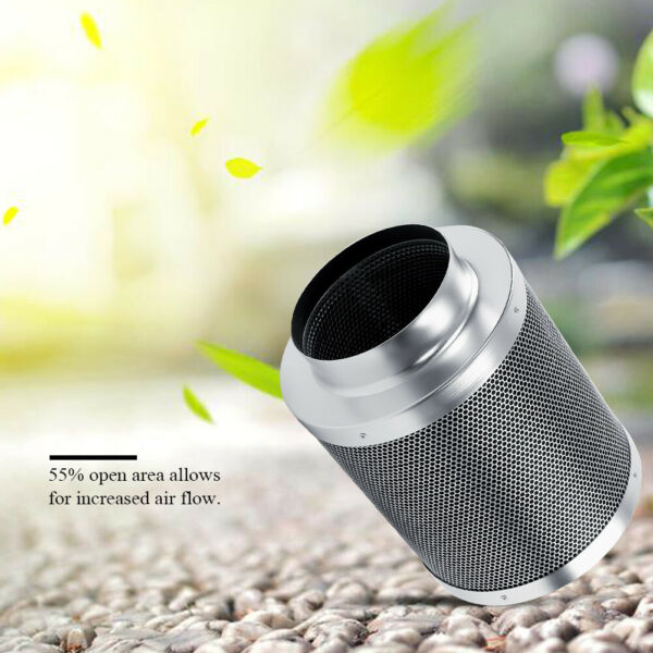 6#x27;#x27; Stainless Steel Air Carbon Filters Hydroponics Remove Smell House Workshop $57.81