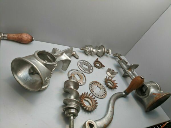 Antique Meat Grinders parts for sale ....Climax 51....Universal