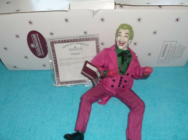 The Joker Figurine by Ashton Drake 14quot;High Poseable NIB Stand Great