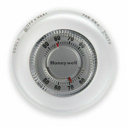 Honeywell CT87N Non Programmable Thermostat White AC and Heat $24.95