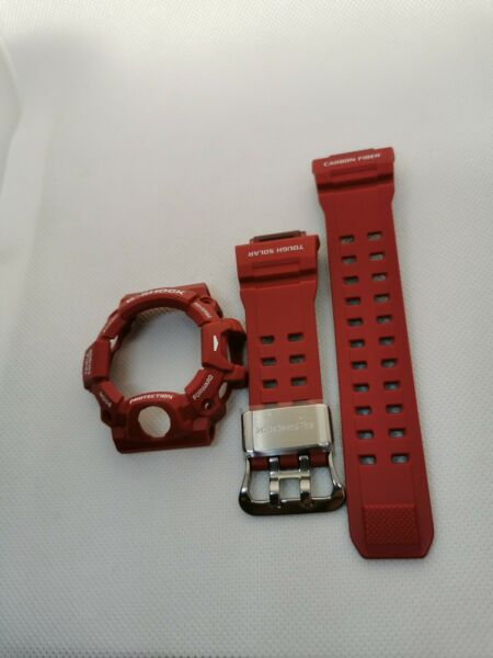 Brand New Genuine carbon Band and bezel for Casio G Shock GW 9400RD. GBP 100.00