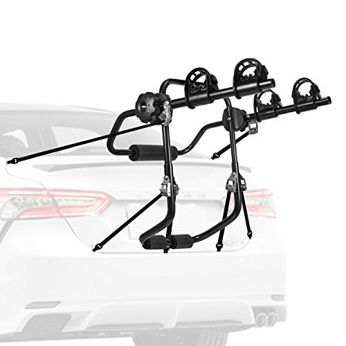 AONI Car Bike Rack Trunk or Hitch Carrier 1 2 Bicycle Carrier Options for car $33.24