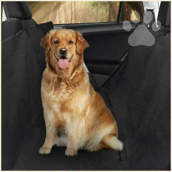 Dog Back Seat Cover Protector Waterproof Scratchproof Nonslip Hammock for Dogs $17.49