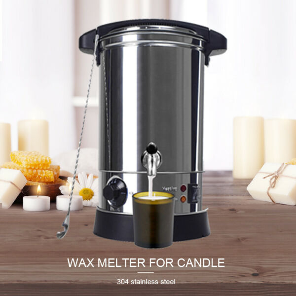 6.5L Wax Melter Electric Melting Pot for Paraffin Soy Wax Candle Making 30℃ 110℃ $92.99