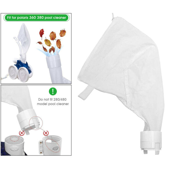 Polyester Pool Cleaner Bag for Polaris Replacement Bag Parts Accessories $9.29