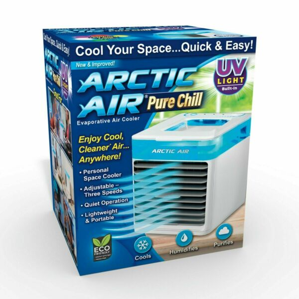 Arctic Air Pure Chill Cooling Evaporative Cooler With UV light New Open Box $23.96