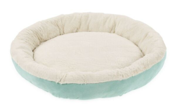 Beyond Pet Dog Bed Therapeutic Round Cuddle Nest Snuggery Burrow Pet Large $30.00