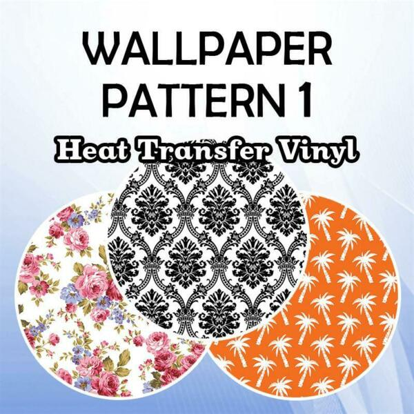 Wallpaper Patterned HTV 19.66quot; ROLL **FREE SHIPPING** $14.68