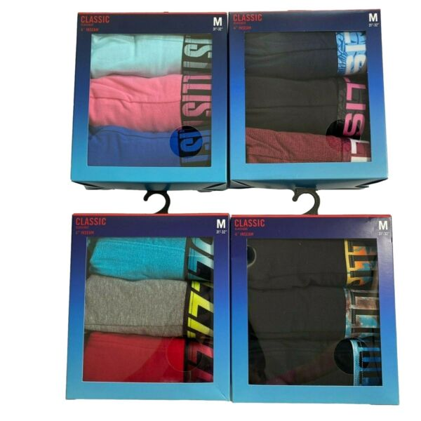 HOLLISTER BY ABERCROMBIE MENS Classic Trunk 3 Pack Underwear Free Shipping $27.95