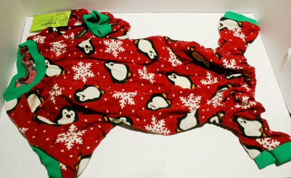 Fitwarm Cute Penguin Christmas Dog Pajamas Jumpsuit SMALL BREED DOG $12.52