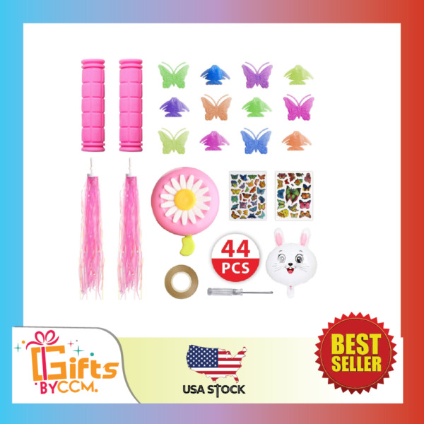 Bike Accessories for Kids Girls Bike Bicycle Decorations Including Pink $9.99