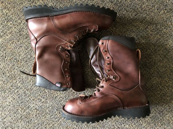 Danner Trophy Brown Insulated 600G 40000. Clean US SIZE 9 . Made In USA 🇺🇸.