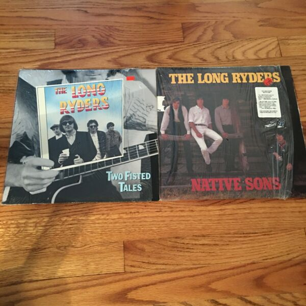 2 RECORD LOT THE LONG RYDERS NM COUNTRY PUNK PAISLEY UNDERGROUND