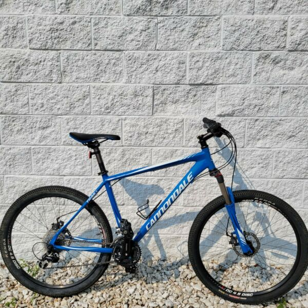 Cannondale Five Mountain Bike 19quot; Frame 24 Speed w Disc Brakes Nice $485.00