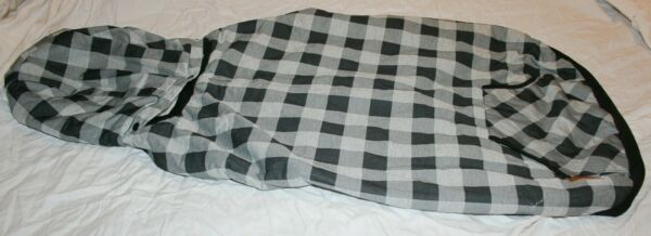 PAWZ Road Dog Plaid Lined Coat Jacket Sweater w Removable Hood Several Options $17.49