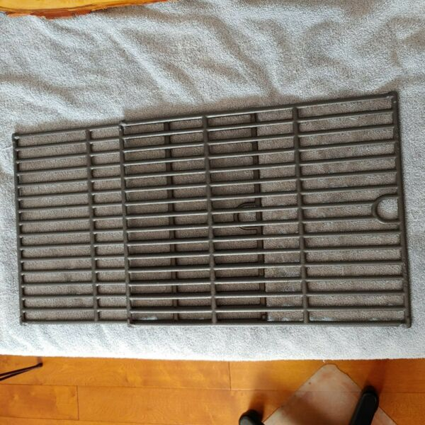 Lot of 2 Cast Iron Grill Grates 13 in. x 17 in. NEW