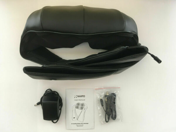 Naipo Shiatsu 3D Rotating Massager With Heat for Neck And Shoulder NEW $29.99