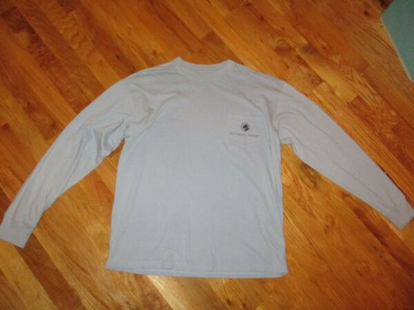 Mens Southern Proper Blue We#x27;ve Got a Dog in this Fight Long Sleeve T Shirt Sz S $10.95