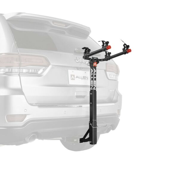 Allen Sports Deluxe 2 Bicycle Hitch Mounted Bike Rack Carrier 522RR. NIB $101.00