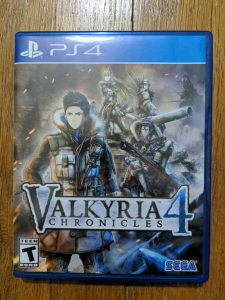 USED Sega: Valkyria Chronicles 4 for PlayStation 4 PS4 Free Shipping $16.95