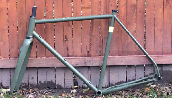 Surly Midnight Special frameset with whysky No.9 full carbon fork custom paint $900.00