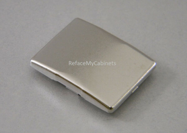 20 STAINLESS COVER CAPS FOR BLUM 39c SERIES HINGES