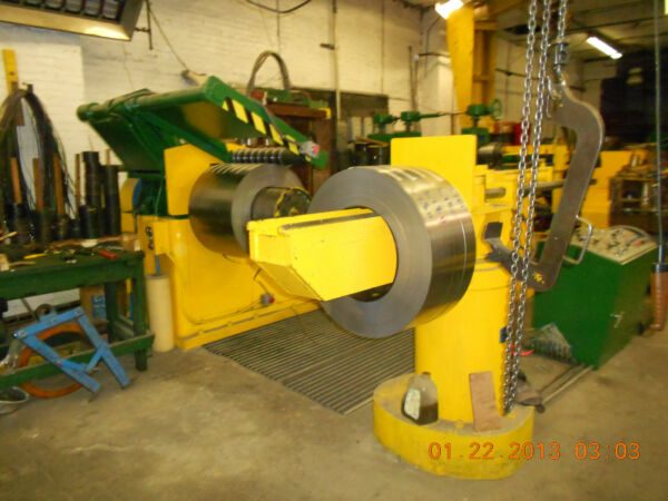 30 WIDE STANAT SLITTING LINE FOR SALE